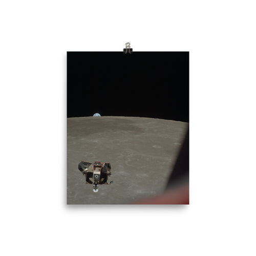 Apollo 11 Lunar Module Ascent