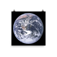 The Blue Marble Poster