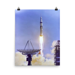 Apollo 7 Launch Poster