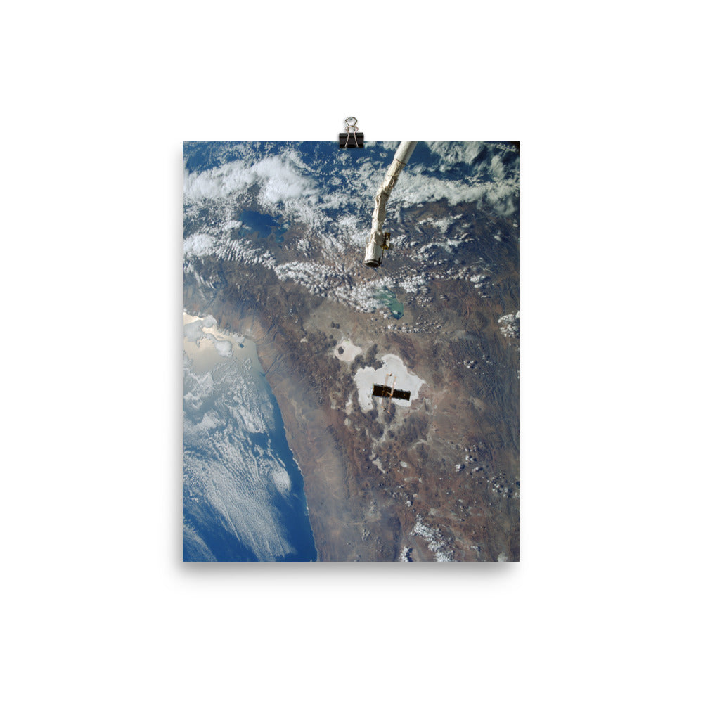 Hubble Space Telescope Release Poster