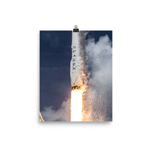 SpaceX ORBCOMM Launch Poster