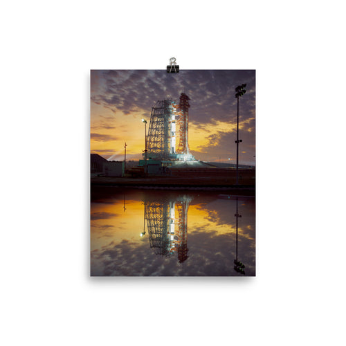 Apollo 8 Pre-Launch Sunset Poster