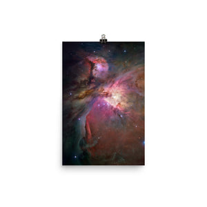 Hubble Orion Nebula Poster