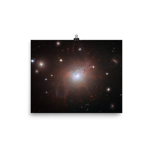 Hubble Magnetic monster NGC 1275 Poster