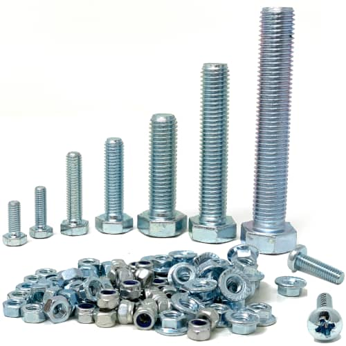 threaded fasteners collection jar uk industries