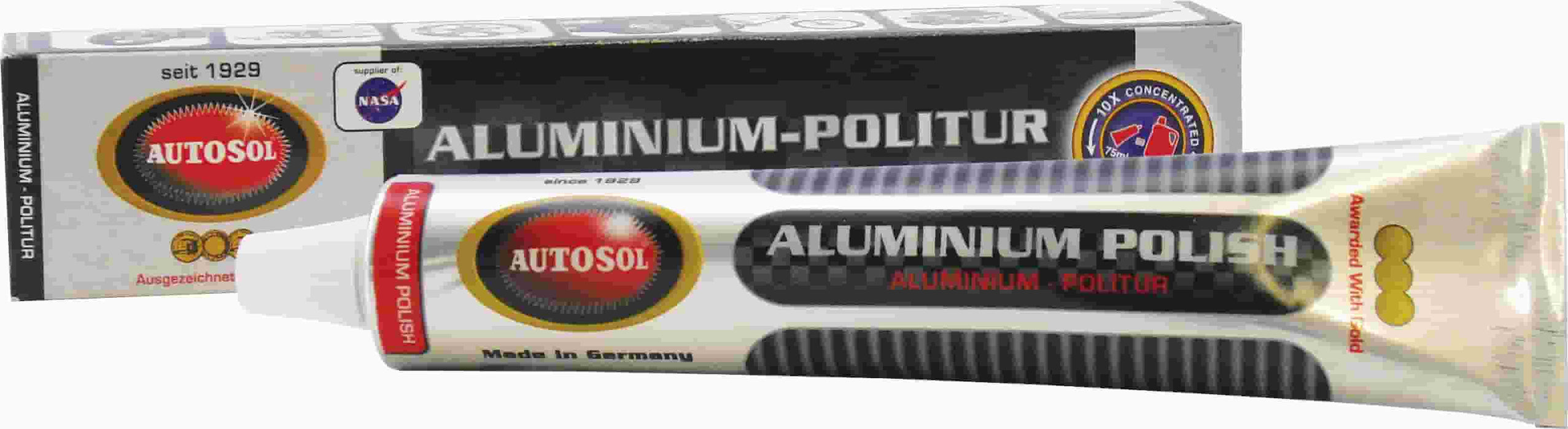 Autosol Aluminium Polish & Cleaner | 75ml Tube - JAR UK Industries