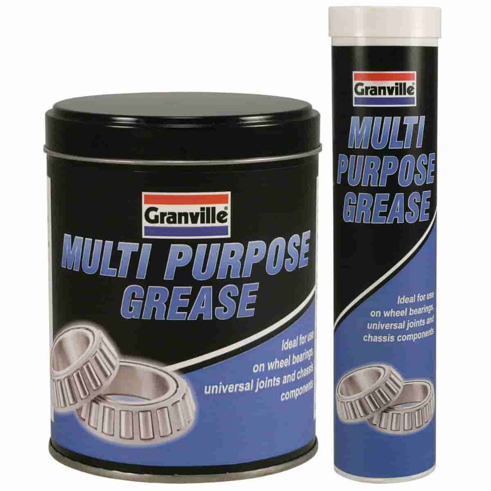 Granville Multi-Purpose Grease - 400g Cartridge / 500g Tin - JAR UK Industries