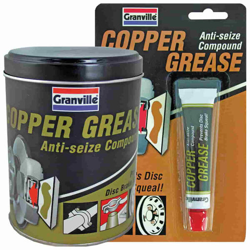 Granville Copper Grease - 70g Tube / 500g Tin - JAR UK Industries
