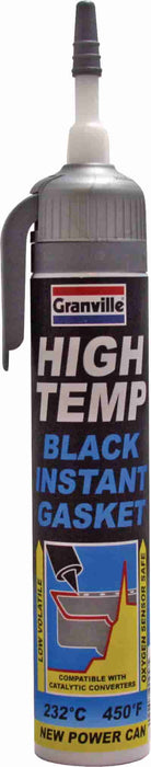 Granville High Temp Black Instant Gasket - 200ml - JAR UK Industries