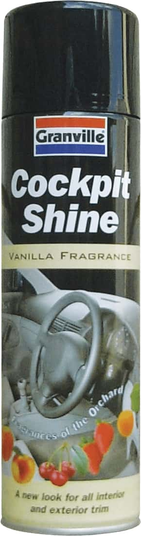 Granville Cockpit Shine Gloss - Vanilla - 500ml Aero - JAR UK Industries