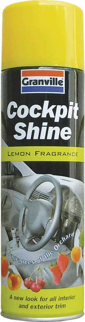 Granville Cockpit Shine Gloss - Lemon - 500ml Aero - JAR UK Industries