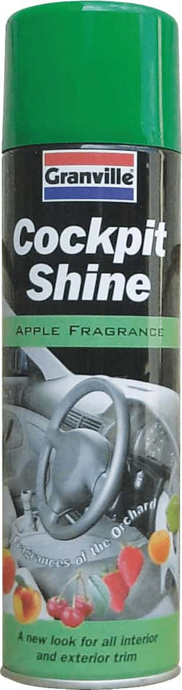 Granville Cockpit Shine Gloss - Apple - 500ml Aero - JAR UK Industries