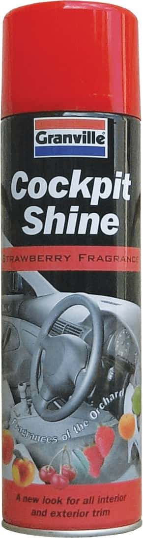 Granville Cockpit Shine Gloss - Strawberry - 500ml Aero - JAR UK Industries