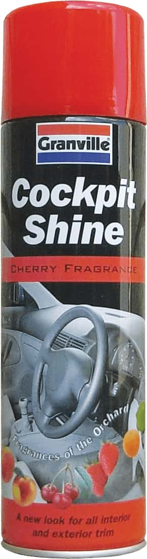Granville Cockpit Shine Gloss - Cherry - 500ml Aero - JAR UK Industries