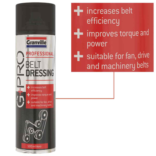 Granville Belt Dressing - G+Pro - 500ml - JAR UK Industries