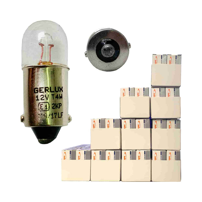 233 Bulb - Side / Tail - BA9s - 12v 4w - Autolamps (E1) - JAR UK Industries