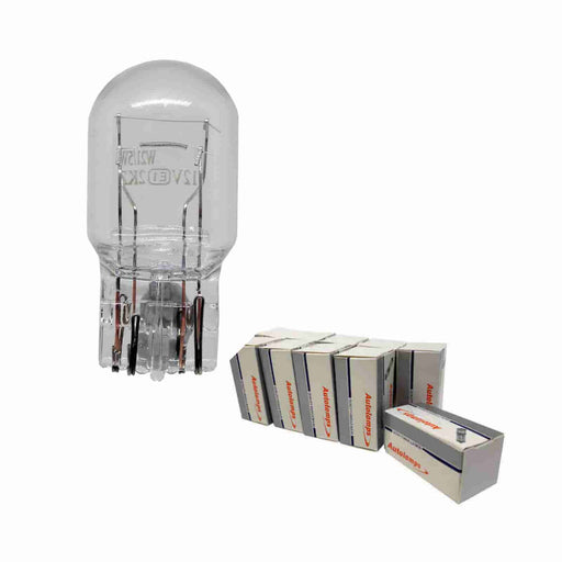 380 Bulb - Capless Wedge - Stop / Tail - W5 x 16d - 12v 21w/5w - Autolamps (E1) - JAR UK Industries