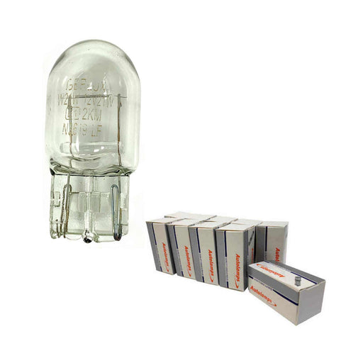 382W / 582W Bulb - Capless Wedge - Stop / Tail / Indicator / Fog - W21W - 12v 21w - Autolamps (E1)