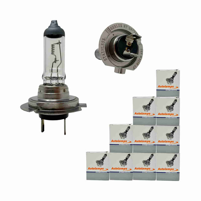 499A Bulb - H7 - Halogen Headlamp - Px26d - 24v 70w - Autolamps (E1) - JAR UK Industries