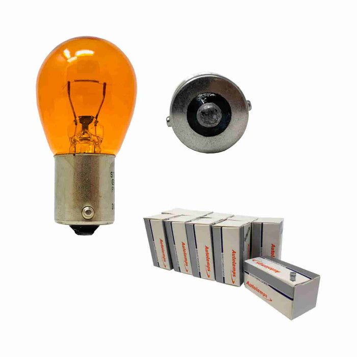 581 Bulb - Amber Indicator - BAU15s - 12v 21w - Autolamps (E1) - JAR UK Industries