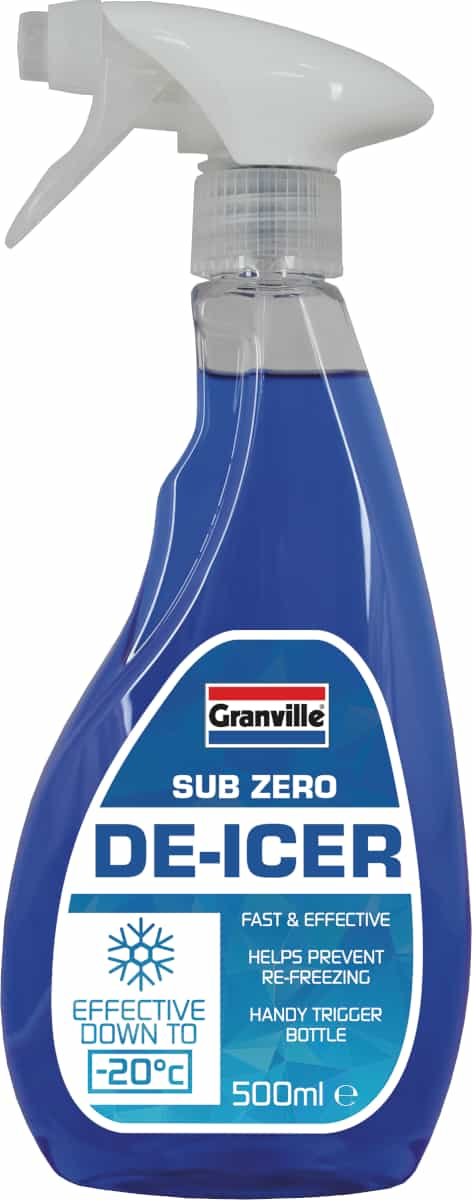 Granville Sub Zero De-Icer - 500ml Trigger - JAR UK Industries