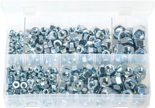 Steel Nuts - Metric (Popular Sizes) - Assorted Box - JAR UK Industries