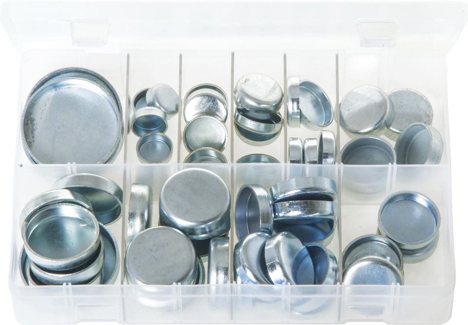 Core Plugs Cup Type - Metric - Assorted Box - JAR UK Industries