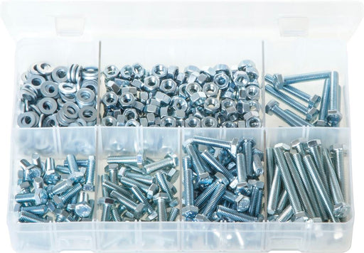 M6 Fasteners - Assorted Box - JAR UK Industries