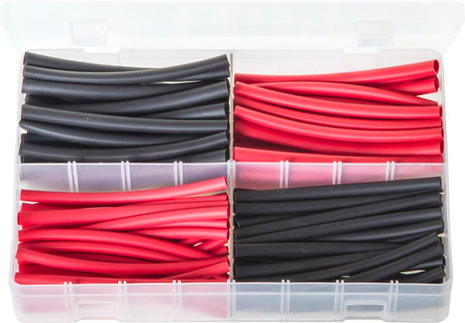 Heat Shrink Tubing 2:1 Ratio - 100mm Lengths Assorted Box - JAR UK Industries