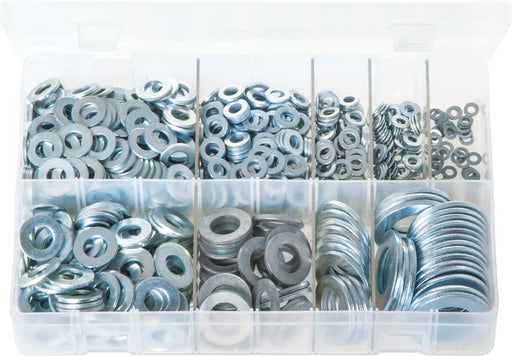 Flat Washers 'Form A' - Metric - Assorted Box - JAR UK Industries