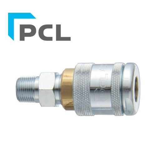 "PCL 100 Series Coupling - Male - 3/8"" BSP - JAR UK INDUSTRIES"