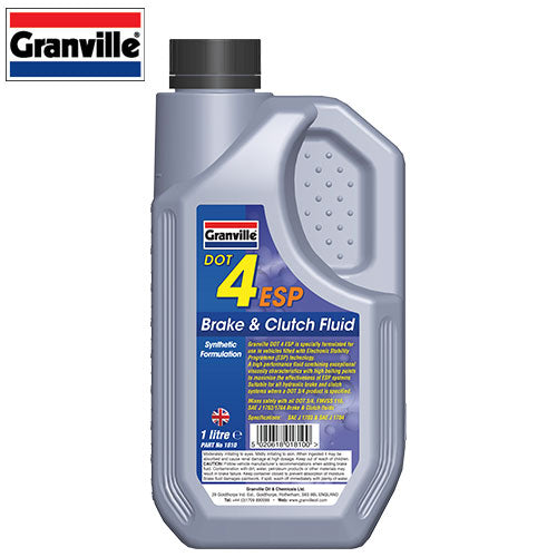 Brake Fluid Dot 4 ESP - 1 Ltr - JAR UK Industries