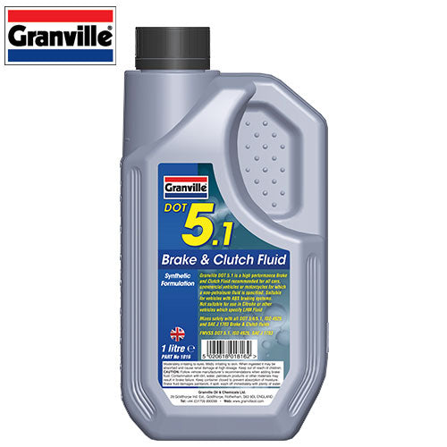 Granville Brake Fluid Dot 5.1 - 1 Ltr - JAR UK Industries