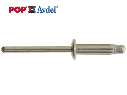 Bulbex Rivets (POP AVDEL) - Standard Flange - Choose Size & Quantity - JAR UK Industries