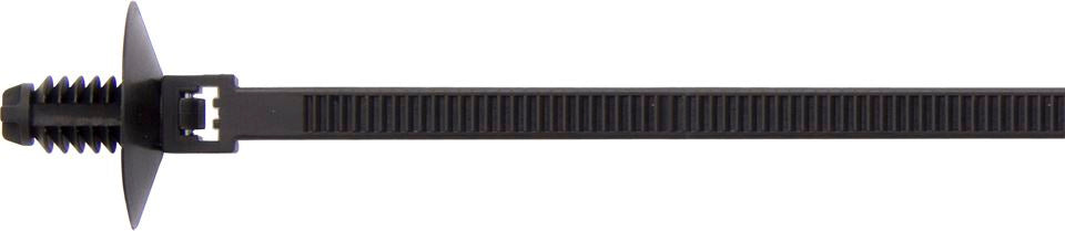 Fir Tree Releasable Cable Ties - Black - 165mm x 5mm - JAR UK Industries