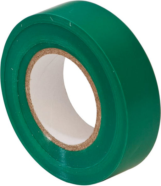 PVC Insulation Tape - Green - 19mm x 20m - JAR UK Industries