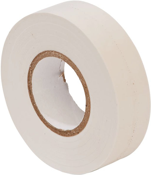 PVC Insulation Tape - White - 19mm x 20m - JAR UK Industries
