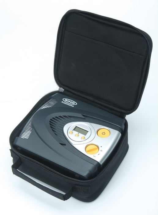 RING 12v Digital Automatic Air Compressor Tyre Inflator - JAR UK Industries