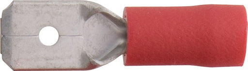 Push-on Male - 6.3mm - Red - JAR UK Industries
