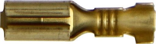 Push-on Female - 2.8mm - Brass - 0.75 - 1.5mm² Cable - JAR UK Industries
