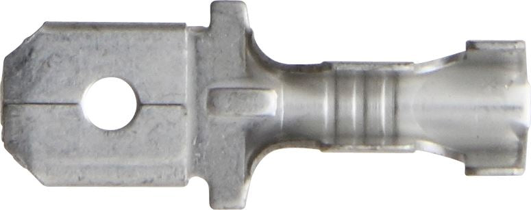 Push-on Male - 6.3mm - Zinc - 0.50mm - 1.00mm² Cable - JAR UK Industries