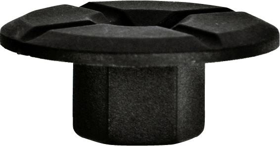 Locking Nut - Black | 24mm x 10.5mm x 8mm | BMW, Mercedes - JAR UK Industries