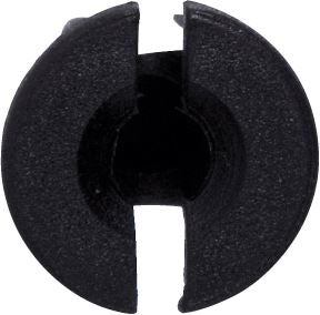 Locking Nut - Black | 12mm x 14mm x 8mm | Volkswagen - JAR UK Industries