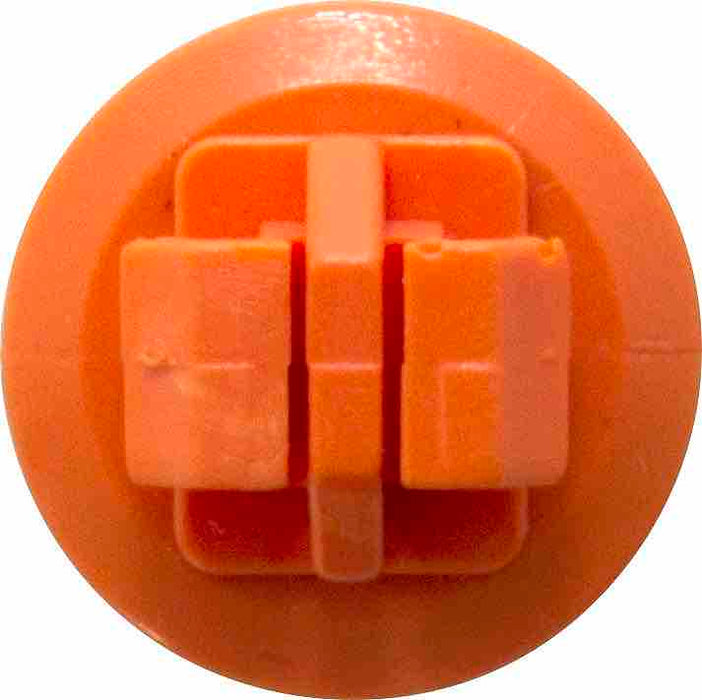 Moulding Clip - Orange | 17mm x 24.5mm x 8mm | Toyota - JAR UK Industries