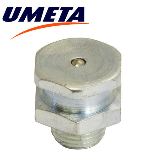 "Grease Nipples Button Head (TAT Type) - 1/8"" BSP Gas - Imperial - UMETA - JAR UK Industries"