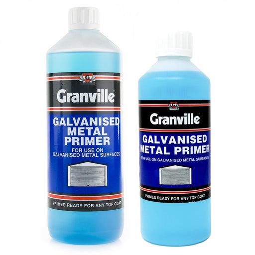 Granville Galvanised and Zinc Metal Etching Primer - 500ml - JAR UK Industries