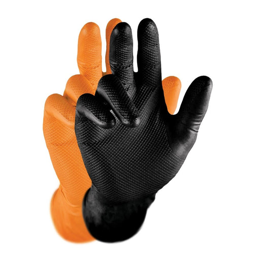 Gripster Skins 100% Nitrile Extra Heavy Duty Gloves