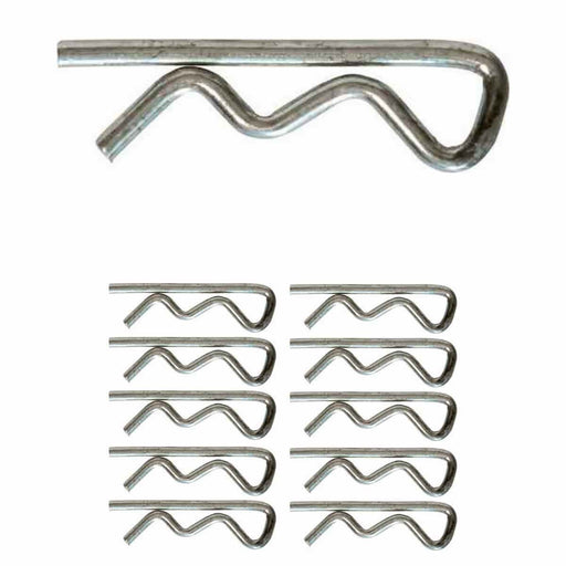 Brake Pad Retaining Pins (Small R-Clips) | TX1, TX2, TX4 (10 Pack) - JAR UK Industries
