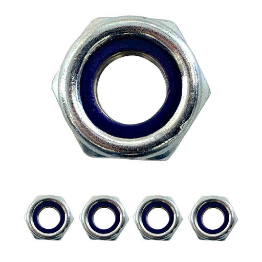 Trailing Arm Bolt - Small - Nyloc Nut | TX2 | TX4 (Early) (Pack 1, 4, or 12) - JAR UK Industries