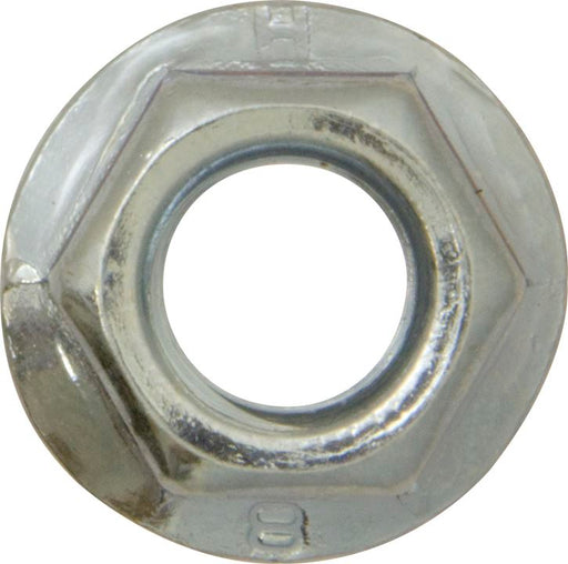 Flange Nuts Serrated - Metric - BZP - Choose Size & Pack Quantity - JAR UK Industries